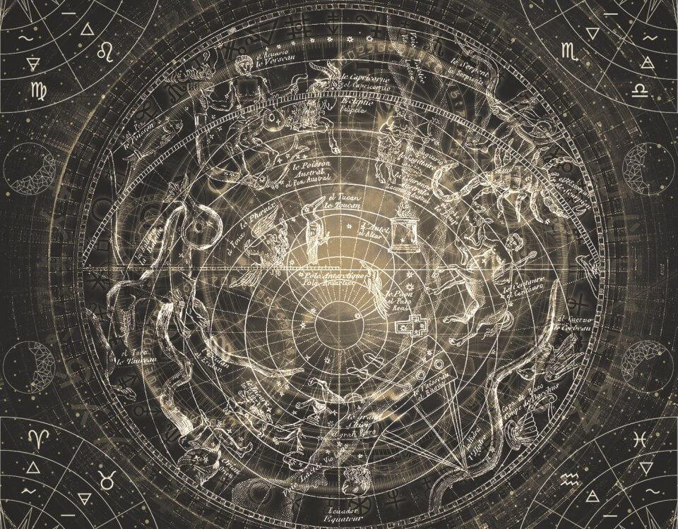 фотообои знаки зодиака купить необычные обои со знаками зодиака