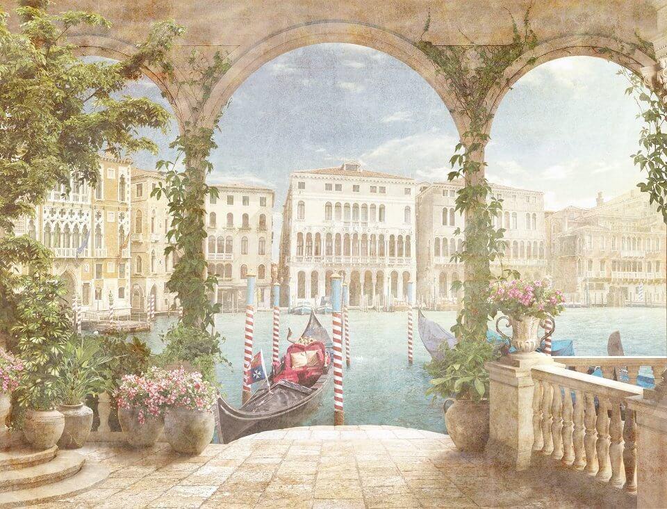 фотообои фреска Венеция