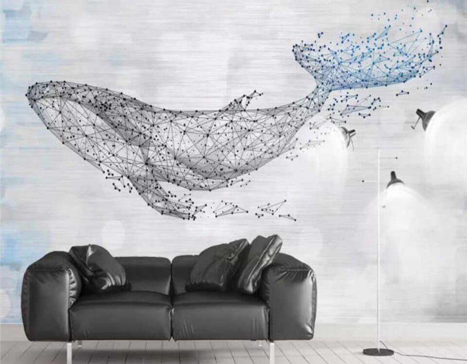 купить обои фрески. обои кит. фреска на стену купить в спб.