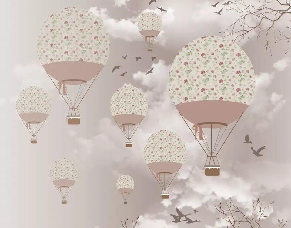 фотообои шары воздушные