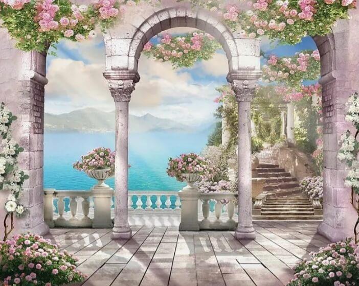 фрески арка