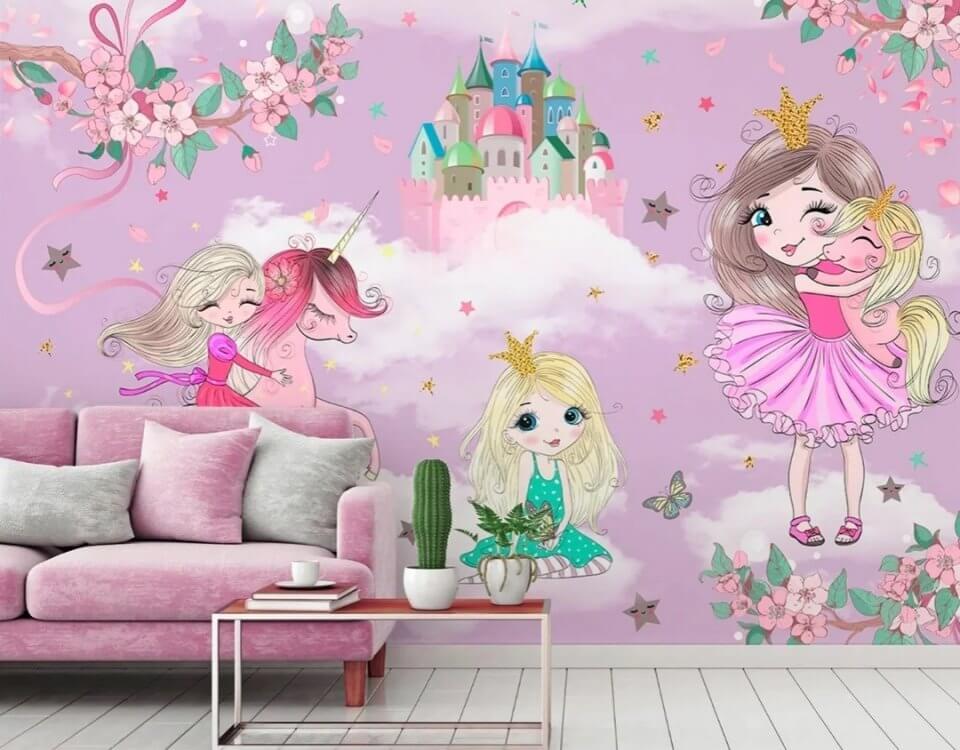 фотообои на стену для девочки