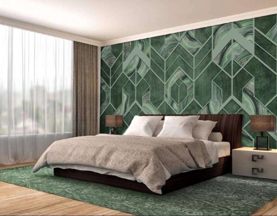 фотообои зеленые. фотообои на стену зеленая стена. фотообои малахит