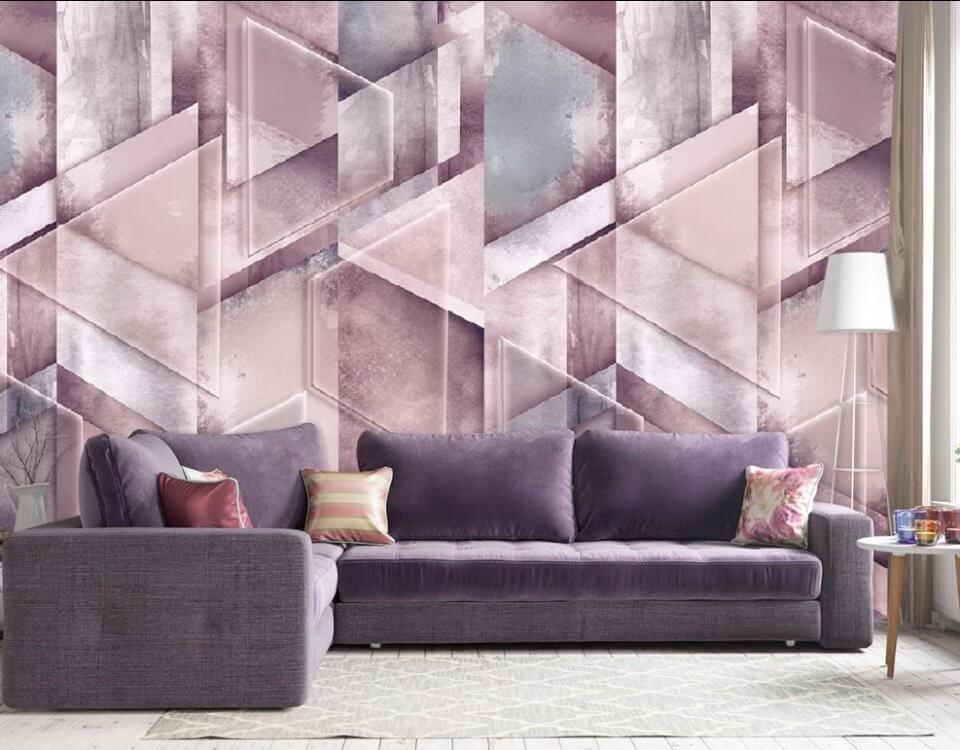 геометрия абстракция фоновые обои красивые линии на стену обои для гостиной необычные фрески на стену
