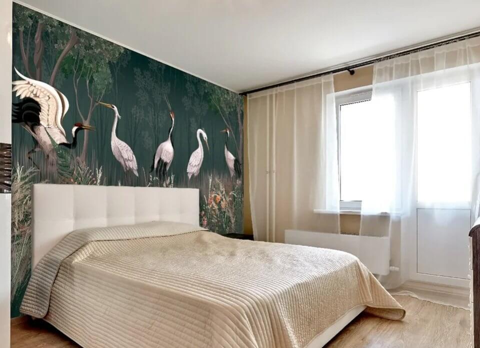 фотообои птицы купить. красивые фотообои на стену в спалю обои