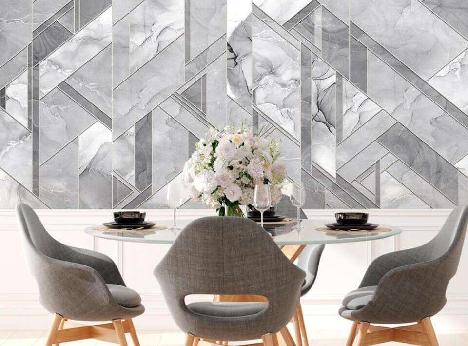 купить фреску. фотообои белые. фотообои мраморные узоры