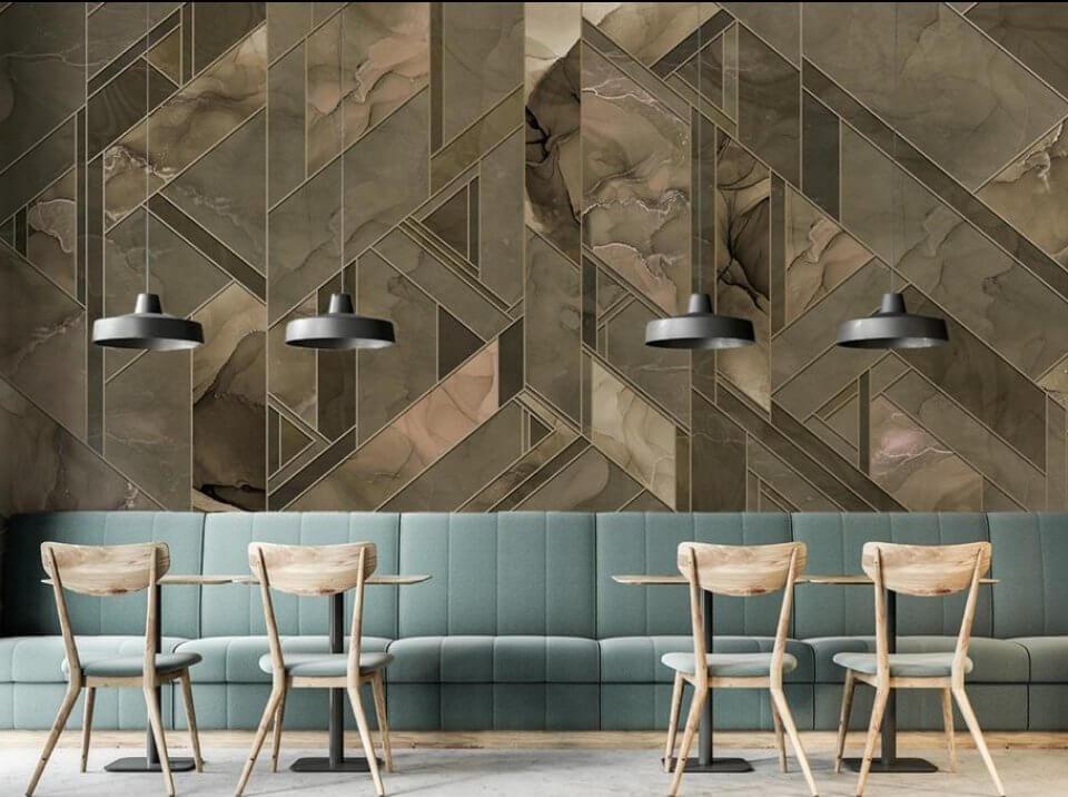 купить фреску. фотообои коричневые. мраморные фотообои заказать по своим размерам