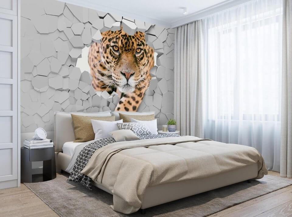 фотообои леопард