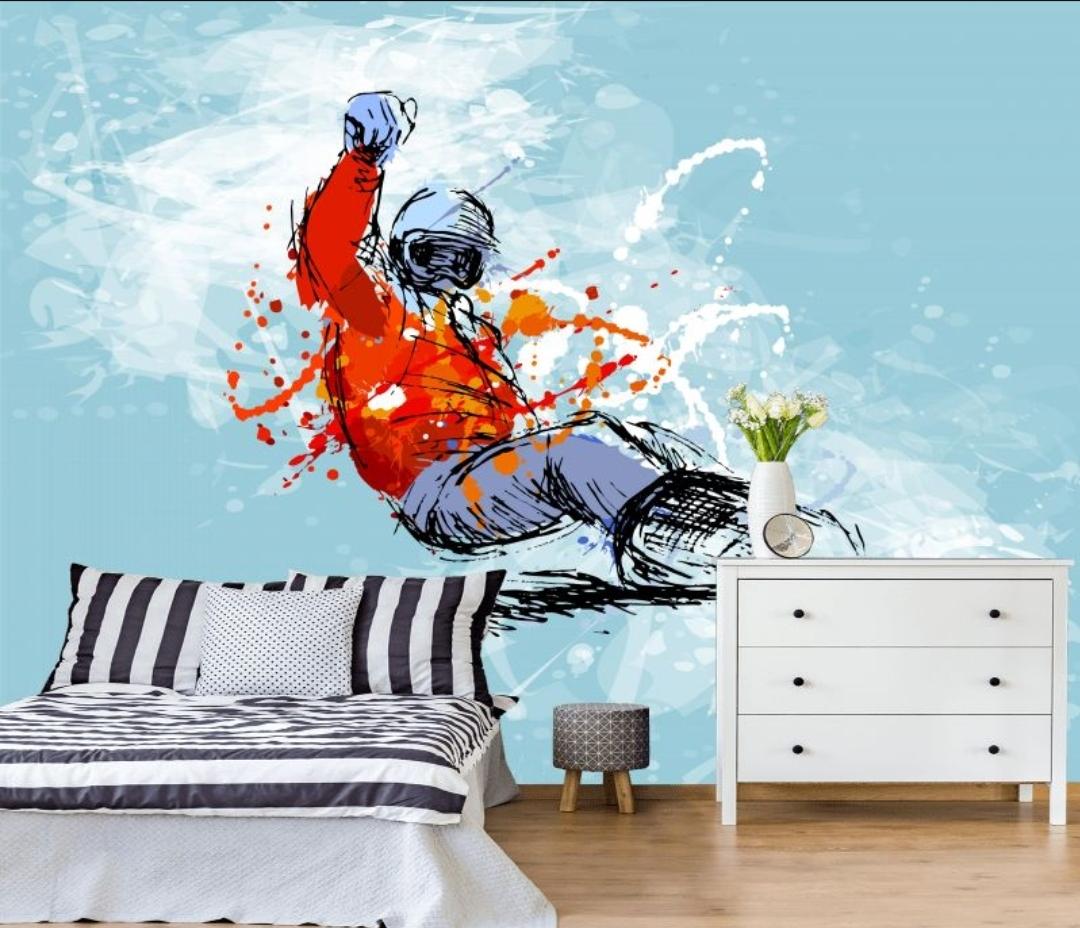 фотообои сноубордист