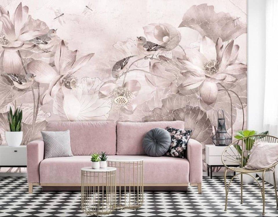 фрески +и фотообои каталог ботаника арт id135981