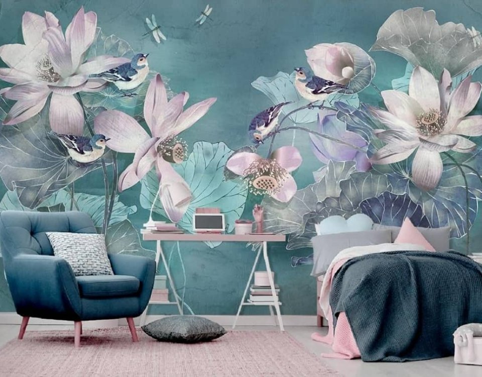арт фотообои фрески