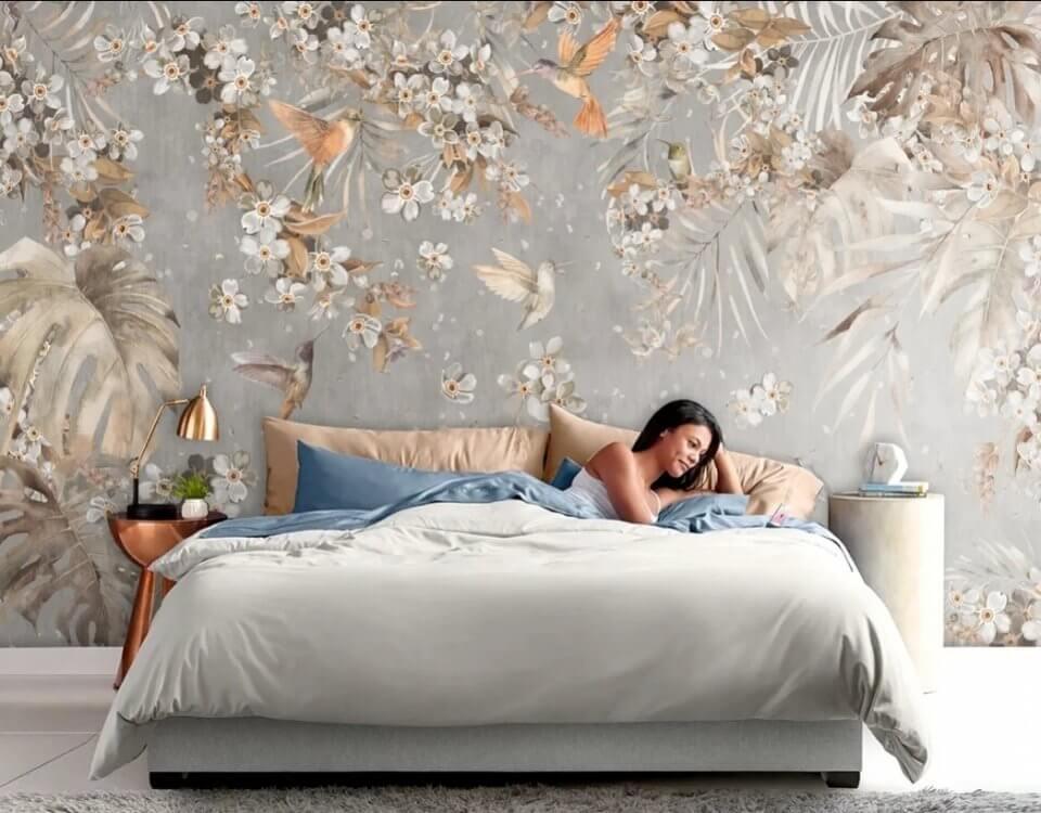 фотообои +на стену над кроватью