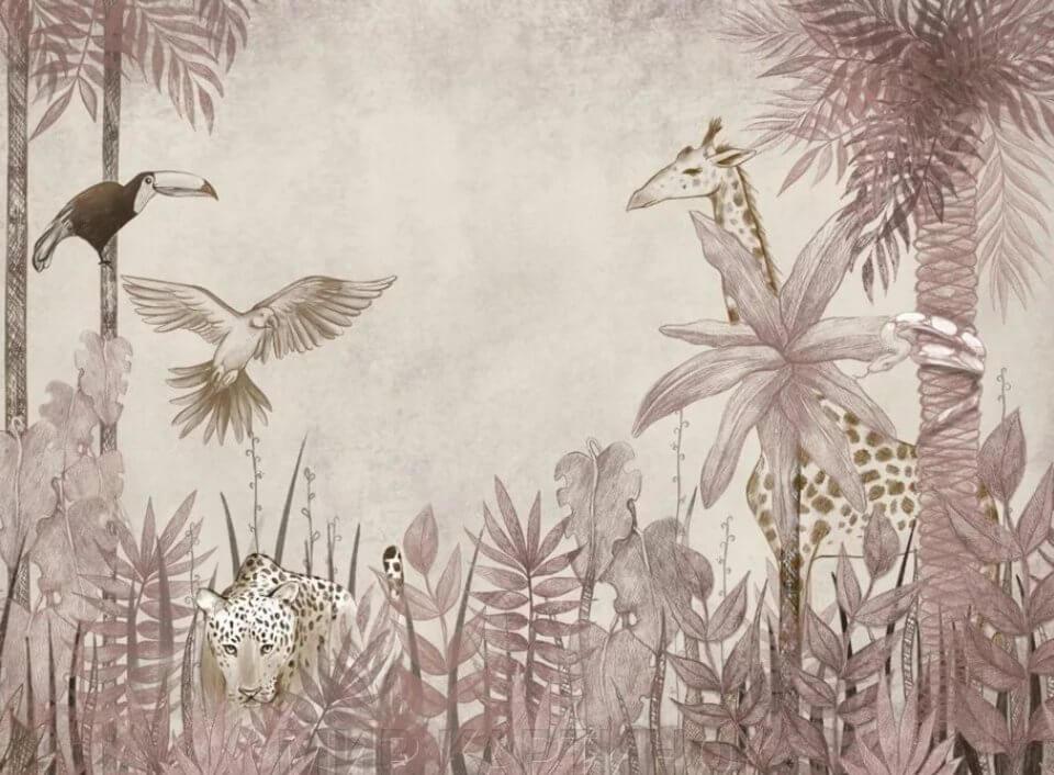 фотообои джунгли