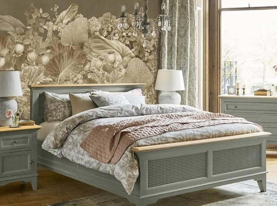 фреска +в спальню над кроватью