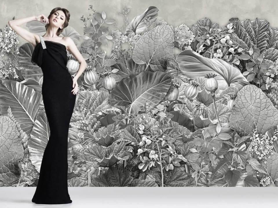 фотообои черно белые на стену