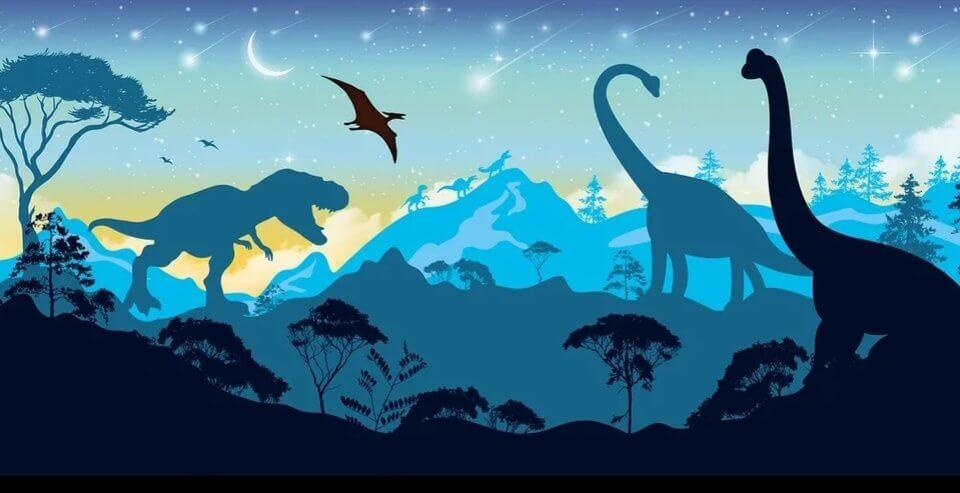 фотообои динозавры на стену