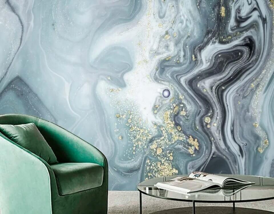 арт флюиды на стену
