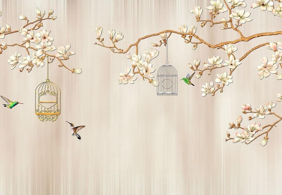 фотообои на стену птица