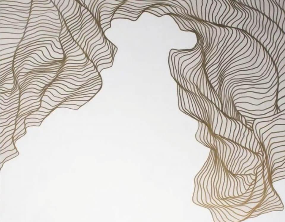 фотообои линии