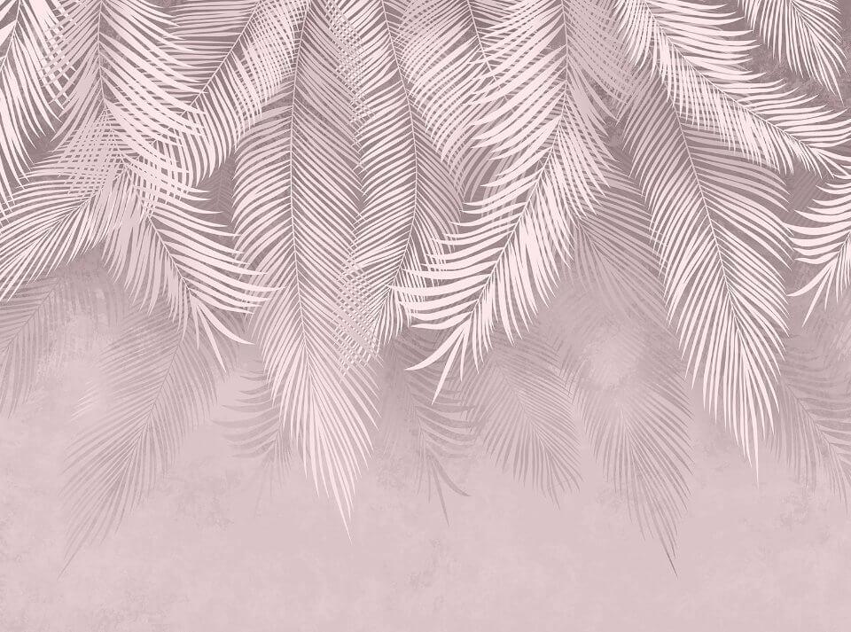 фотообои розовые ветви