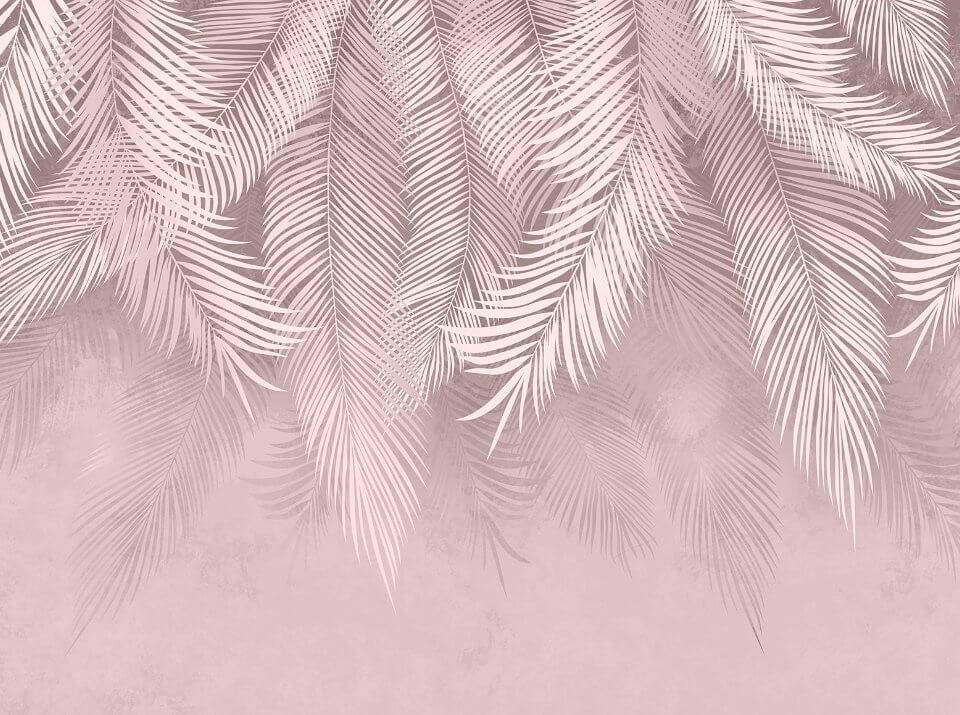 фотообои пальмовые ветви