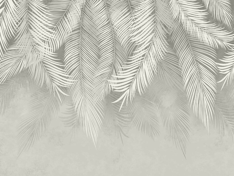 фотообои серые ветки