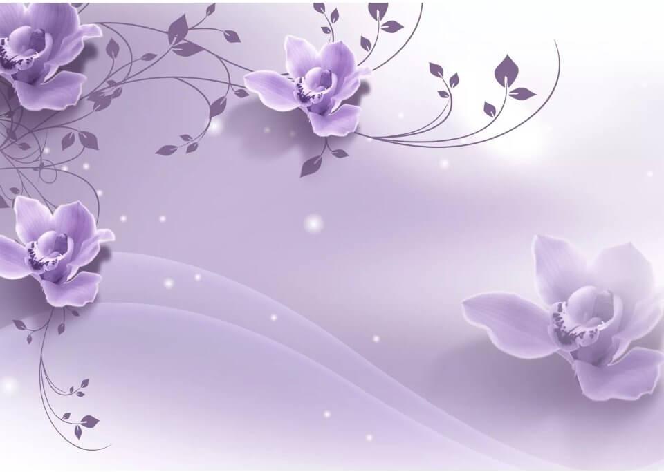 фотообои лилии на стену
