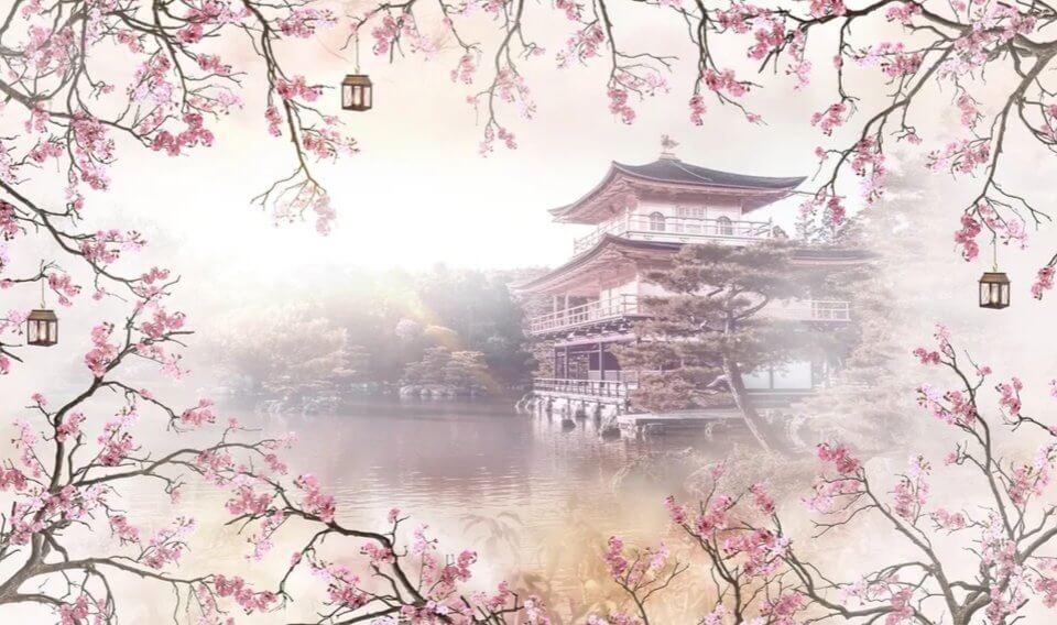 фотообои в японском стиле для стен