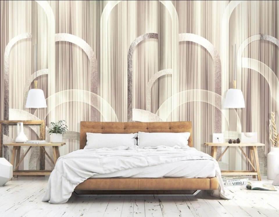 фотообои на стену в спальню над кроватью