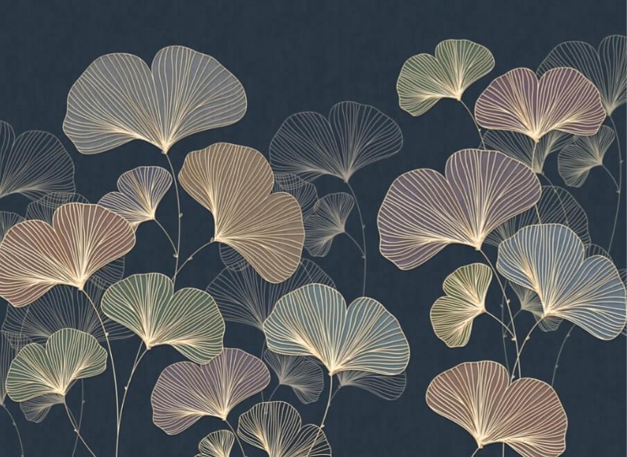 фотообои цветы на стену фото