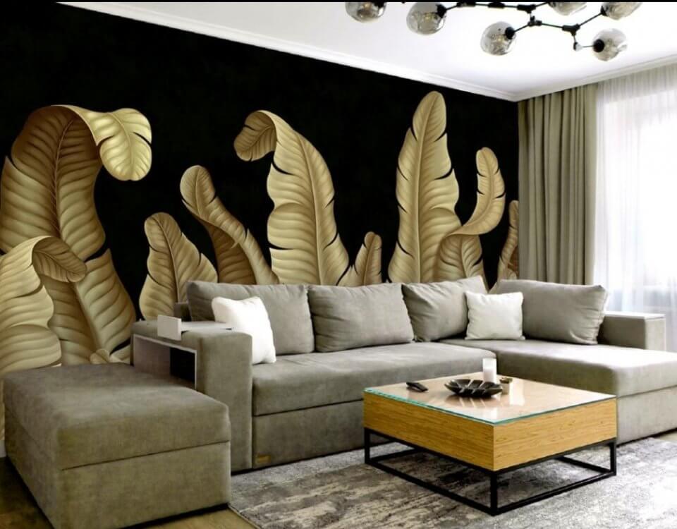 фреска на стену в гостиную