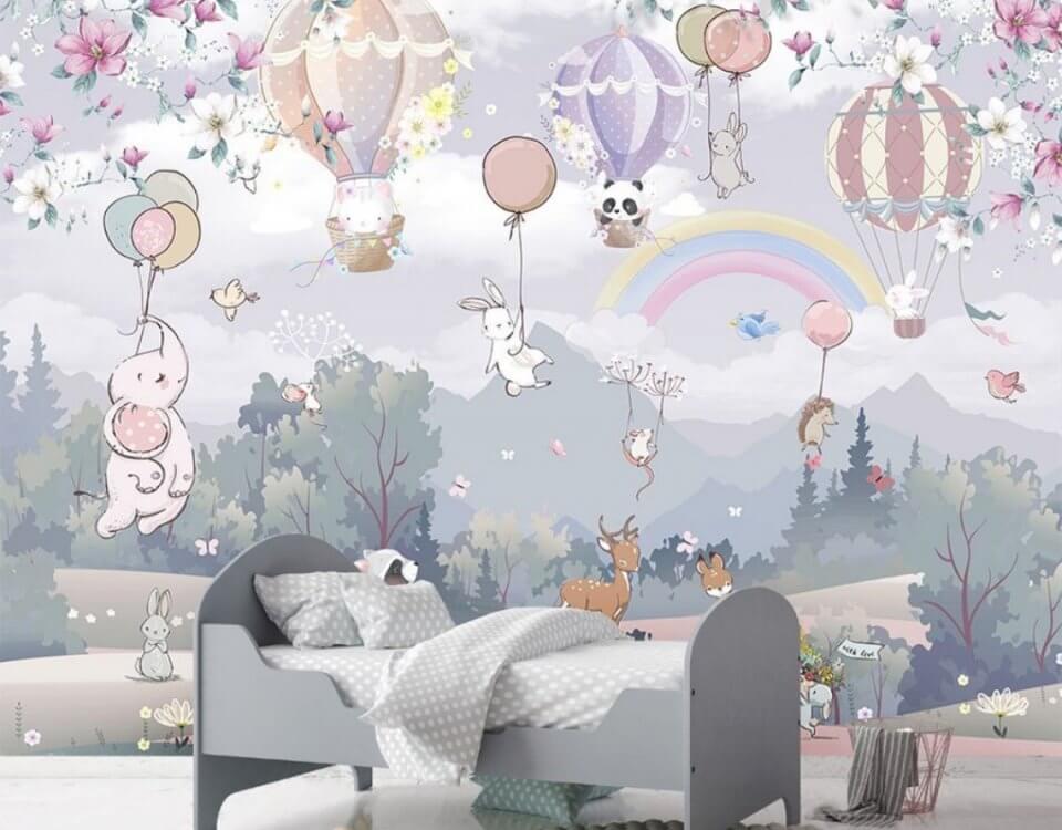 детские фотообои на стену в комнату мальчика