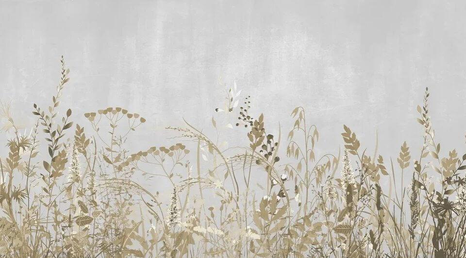 фотообои полевые цветы и растения