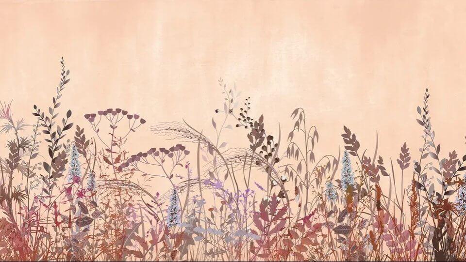 фотообои полевые растения