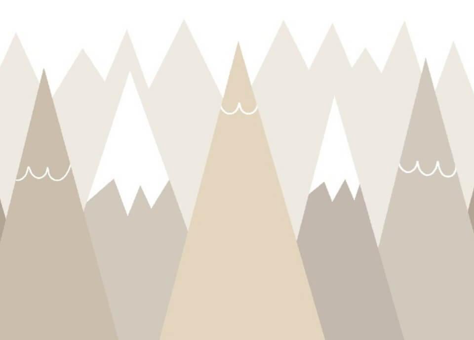 фотообои острые горы на стену
