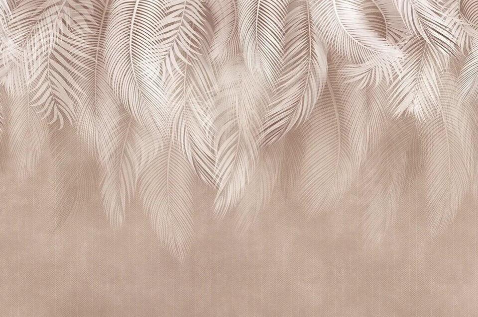 фотообои свисающие перья