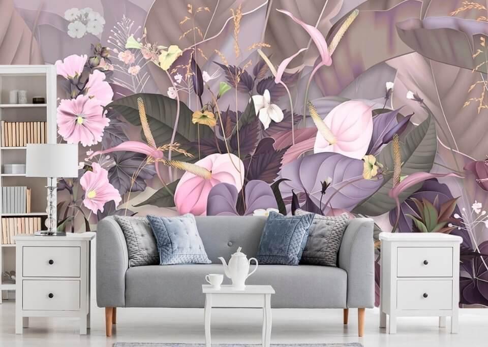 фрески с цветами Казань