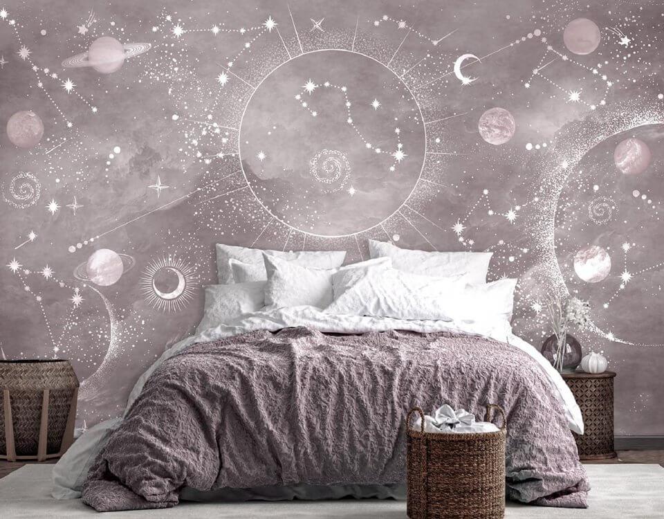 фотообои планеты и звезды на стену печать