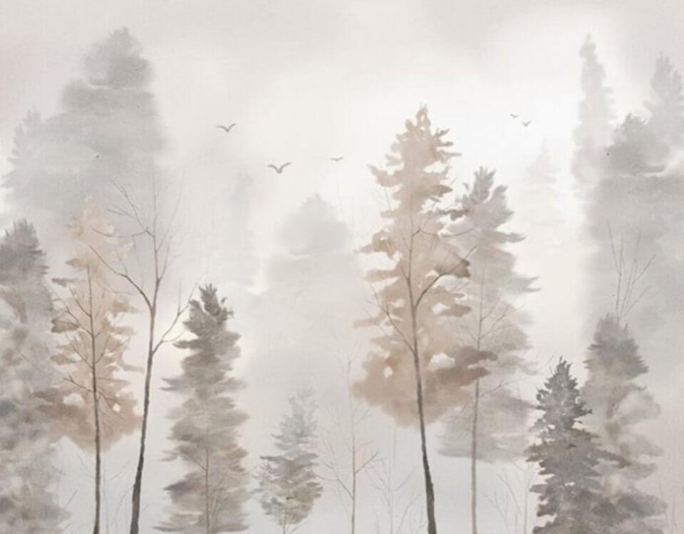 фотообои в детскую лес