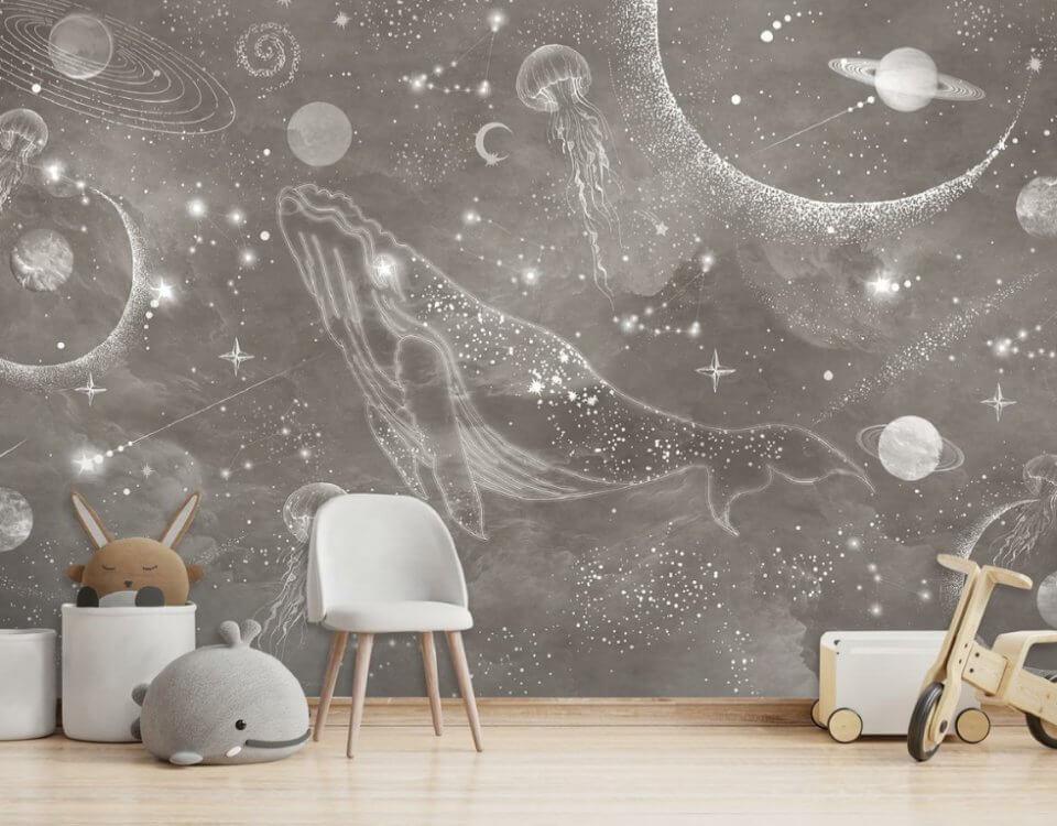 фотообои космос в детскую