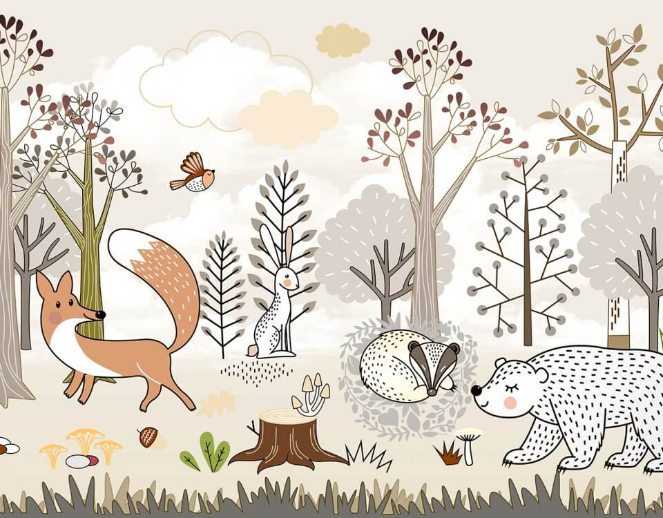 фотообои сказочный лес в детскую