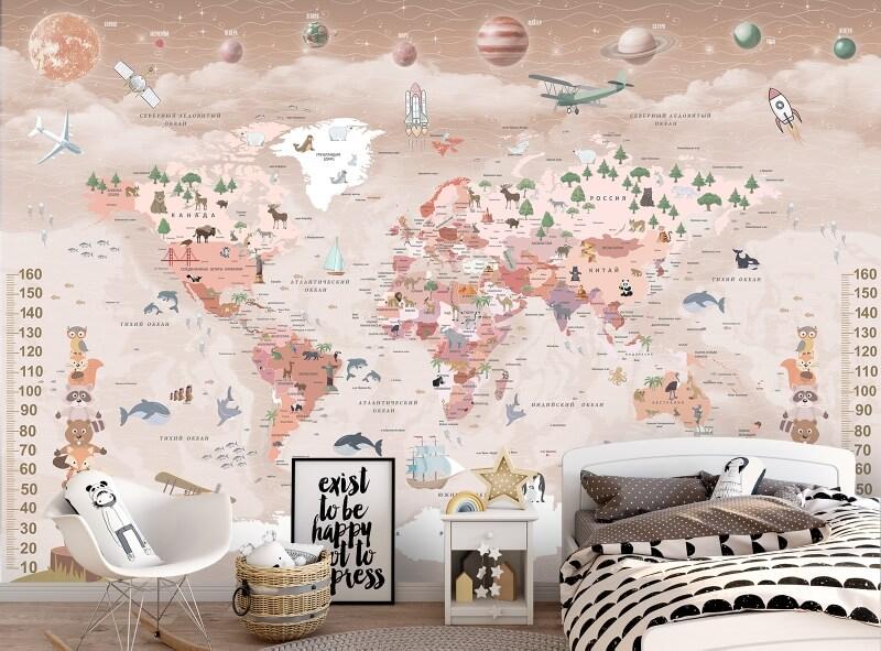 ростомер карта мира