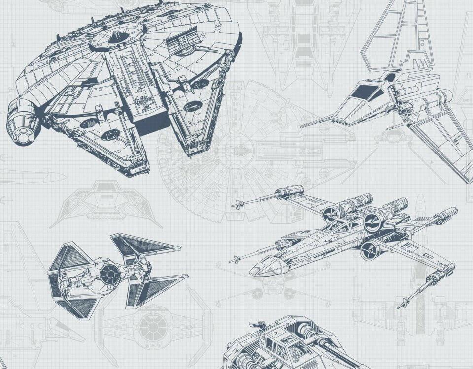 схема кораблей звездные войны