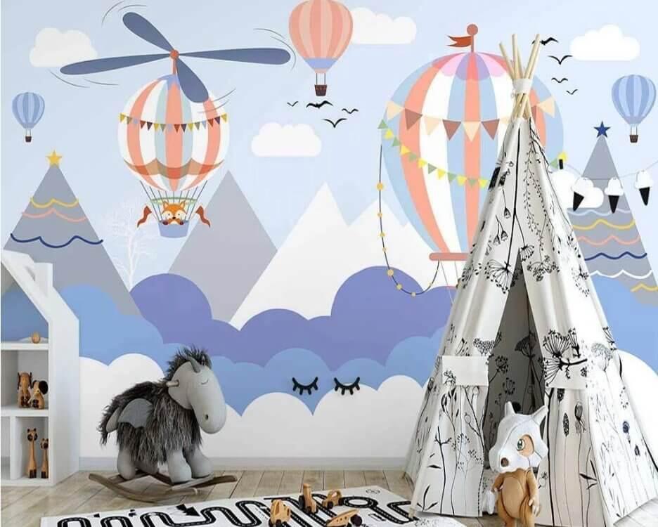фотообои на стену в детскую комнату