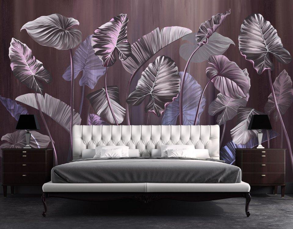 фотообои пальмовые листья купить
